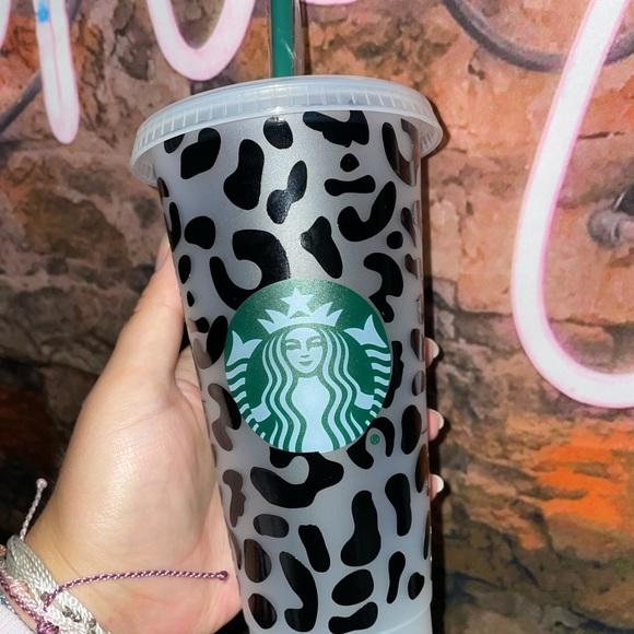 Cheetah Starbucks Cup